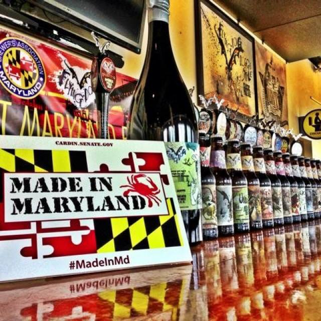 Maryland Beer Tasting at DJ Liquors