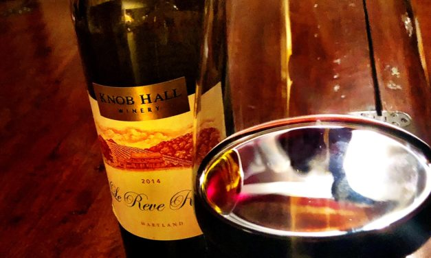 From Behind the Bar October 2: Beverage of the Week – Knob Hall's Le Reve Rouge